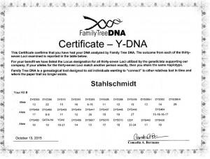 YDNA_Stahlschmidt_II